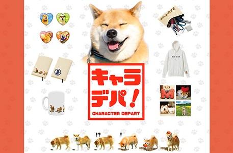 柴犬まるのオリジナル限定グッズ @キャラクターデパート